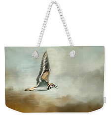 Flight Of The Killdeer Weekender Tote Bag by Jai Johnson