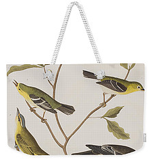 Fly Catchers Weekender Tote Bag by John James Audubon