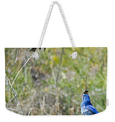 Flyby Flirt Weekender Tote Bag by Mike Dawson