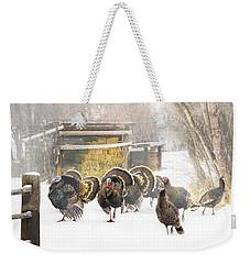 Foggy Morning Weekender Tote Bag by TL Mair