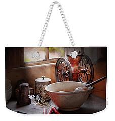 Food - The Morning Chores Weekender Tote Bag by Mike Savad