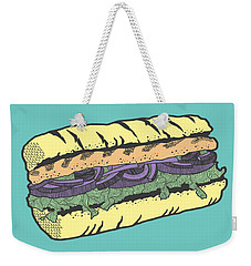 Food Masquerade Weekender Tote Bag by Freshinkstain