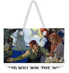 Food Will Win The War Weekender Tote Bag by War Is Hell Store