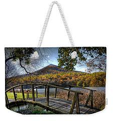 Foot Bridge Weekender Tote Bag by Todd Hostetter