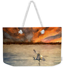 For Just This One Moment Weekender Tote Bag by Lois Bryan
