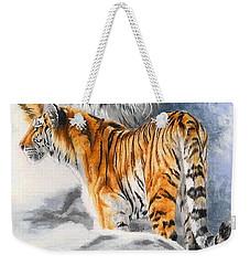 Forceful Weekender Tote Bag by Barbara Keith