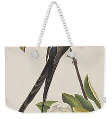 Fork-tailed Flycatcher  Weekender Tote Bag by John James Audubon