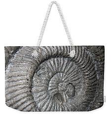Fossil Spiral  Weekender Tote Bag by LeeAnn McLaneGoetz McLaneGoetzStudioLLCcom