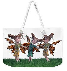 Free Spirit Friends Weekender Tote Bag by Betsy Knapp