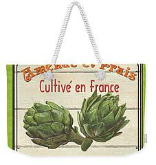 French Vegetable Sign 2 Weekender Tote Bag by Debbie DeWitt