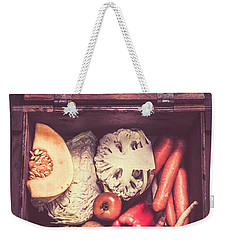 Fresh Vegetables In Wooden Box Weekender Tote Bag by Jorgo Photography - Wall Art Gallery