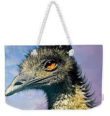 Friend Emu Weekender Tote Bag by Diana Angstadt