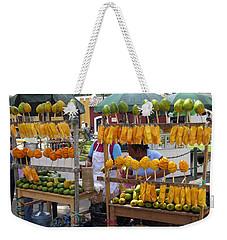 Fruit Stand Antigua  Guatemala Weekender Tote Bag by Kurt Van Wagner