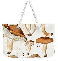 Fungi Weekender Tote Bag by Jean-Baptiste Barla