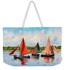 Galway Hookers Weekender Tote Bag by Conor McGuire