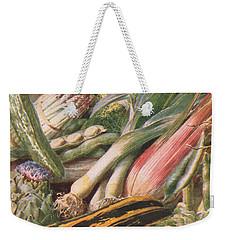 Garden Vegetables Weekender Tote Bag by Louis Fairfax Muckley