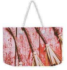 Gathering Of Evil Witches Still Life Weekender Tote Bag by Jorgo Photography - Wall Art Gallery