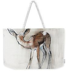 Gazelle Fawn  Arabian Gazelle Weekender Tote Bag by Mark Adlington