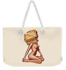 Gentlemen's Club Weekender Tote Bag by Kelly Gilleran
