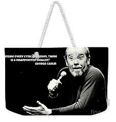 George Carlin Art  Weekender Tote Bag by Pd