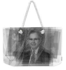 George H. W. Bush Weekender Tote Bag by Steve Socha