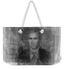 George W. Bush Weekender Tote Bag by Steve Socha