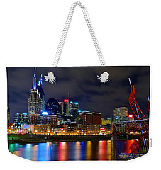 Ghost Ballet In Nashville Weekender Tote Bag by Frozen in Time Fine Art Photography