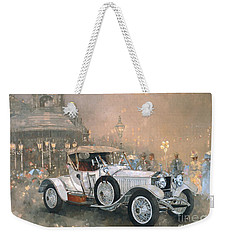 Ghost In Scarborough  Weekender Tote Bag by Peter Miller