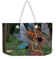 Go Ask Alice Weekender Tote Bag by Betsy Knapp