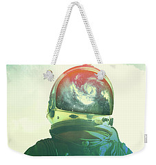 God Is An Astronaut Weekender Tote Bag by Fran Rodriguez