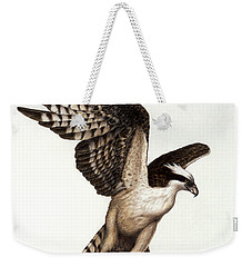 Going Fishin' Osprey Weekender Tote Bag by Pat Erickson