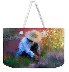 Golden Light Weekender Tote Bag by Colleen Taylor