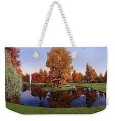 Golf  Cherasco Weekender Tote Bag by Guido Borelli