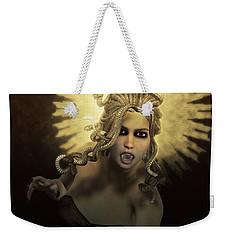 Gorgon Medusa Weekender Tote Bag by Joaquin Abella