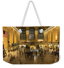 Grand Central Station Weekender Tote Bag by Martin Newman