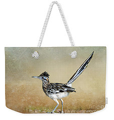 Greater Roadrunner 2 Weekender Tote Bag by Betty LaRue