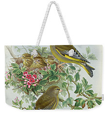 Greenfinch Weekender Tote Bag by John Gould