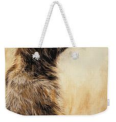 Grizzly Bear 2 Weekender Tote Bag by Odile Kidd