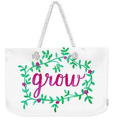 Grow Weekender Tote Bag by Michelle Eshleman
