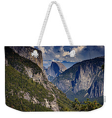 Half Dome And El Capitan Weekender Tote Bag by Rick Berk