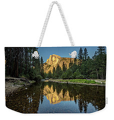 Half Dome From  The Merced Weekender Tote Bag by Peter Tellone