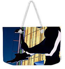 Hammering Man Weekender Tote Bag by Tim Allen