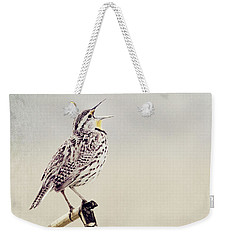 Happy As A Lark Weekender Tote Bag by Pam  Holdsworth