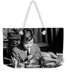 Happy Thanksgiving Weekender Tote Bag by American School