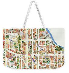 Harlem From 110-155th Streets Weekender Tote Bag by Afinelyne