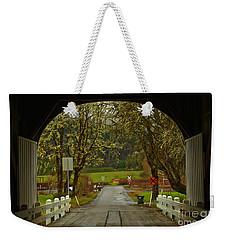 Harris Bridge Frame Weekender Tote Bag by Adam Jewell