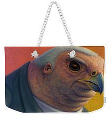 Hawkish Weekender Tote Bag by James W Johnson