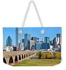 Heading To Dallas Weekender Tote Bag by Frozen in Time Fine Art Photography