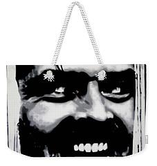 Heres Johnny Weekender Tote Bag by Luis Ludzska