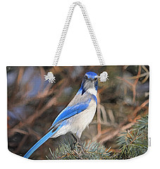 Here's Looking At You,  Kid Weekender Tote Bag by Donna Kennedy